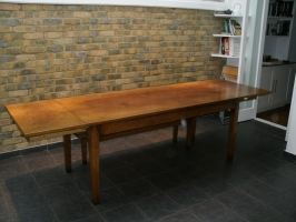 French Provincial Table with self contained leafs