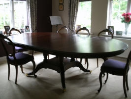 Cherry Regency extending Dining Table