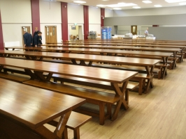 Suppling dining tables to Schools