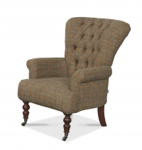 Harrington High Back Chair in Gamekeeper Thorn
