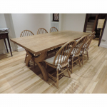 Customers Bespoke Oak Dining Tables