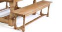 Oak Cannon Leg Refectory Dining Tables - picture 3