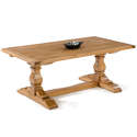 Oak Square Column Refectory Dining Tables - picture 1