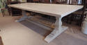 Oak Square Column Refectory Dining Tables - picture 13