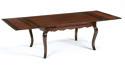 Oak Farmhouse Cabriole Leg Dining Table - picture 2