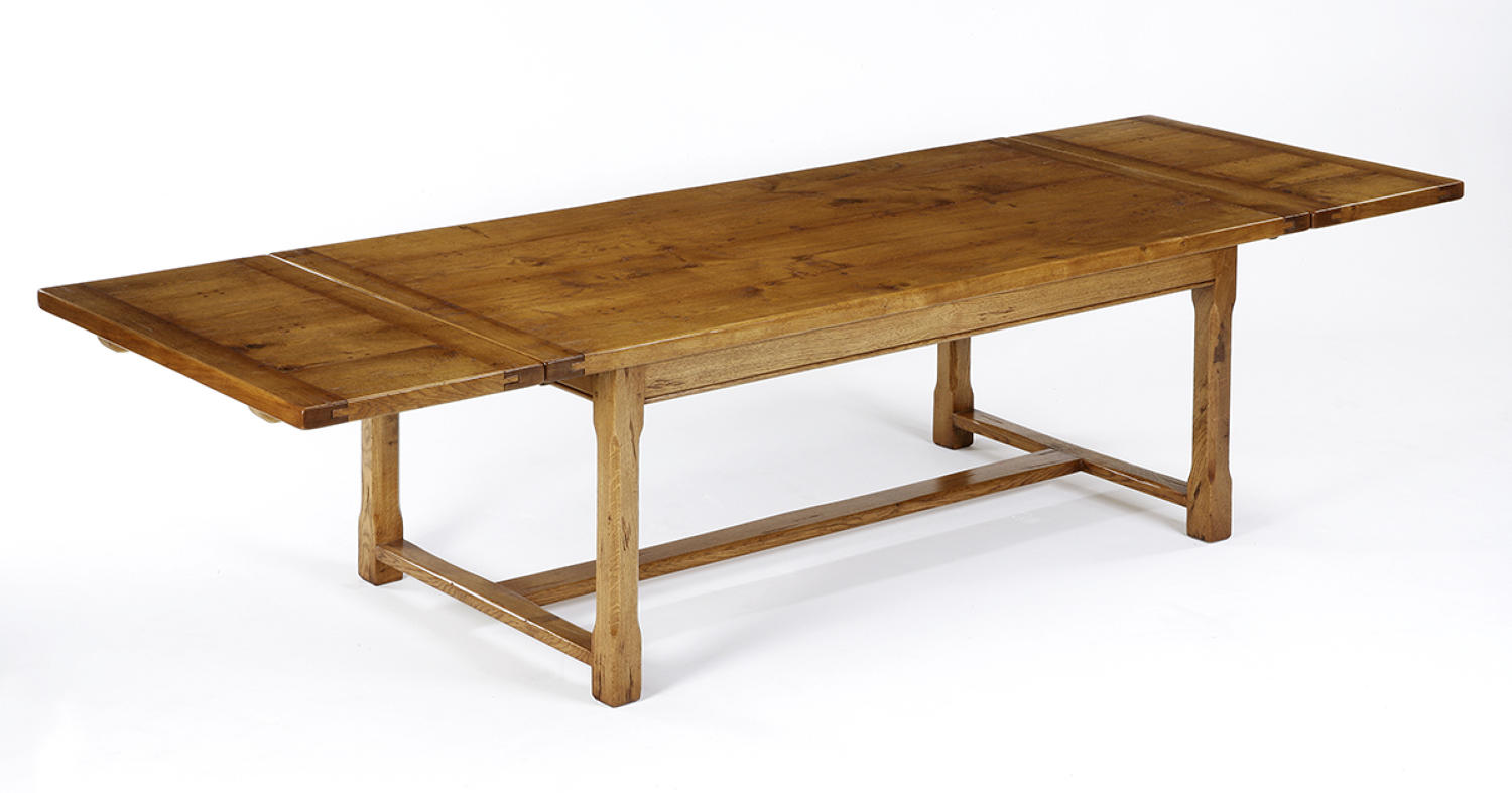 Oak Chamfer leg Farmhouse Dining Table