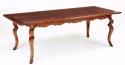 Oak Farmhouse Table-Kinky Leg - picture 1