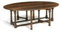 Oak Double Gateleg Dining Table - picture 1