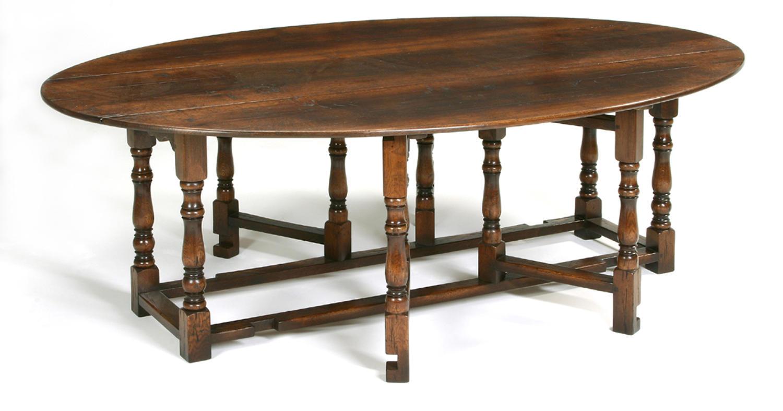 Oak Double Gateleg Dining Table