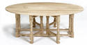 Oak Double Gateleg Dining Table - picture 3