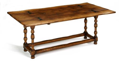 Oak Folding Top Dining Table