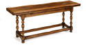 Oak Folding Top Dining Table - picture 2
