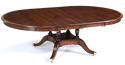 Regency Style Pedestal Dining Table - picture 2