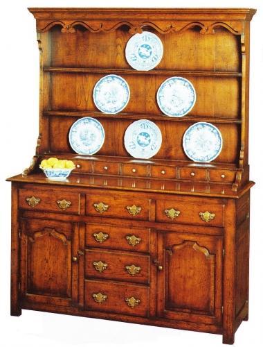 Oak Welsh Dresser and Rack - Flagship