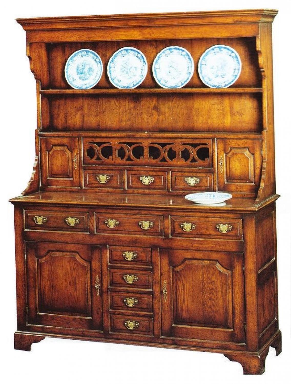 Oak Dresser and Rack-Parry