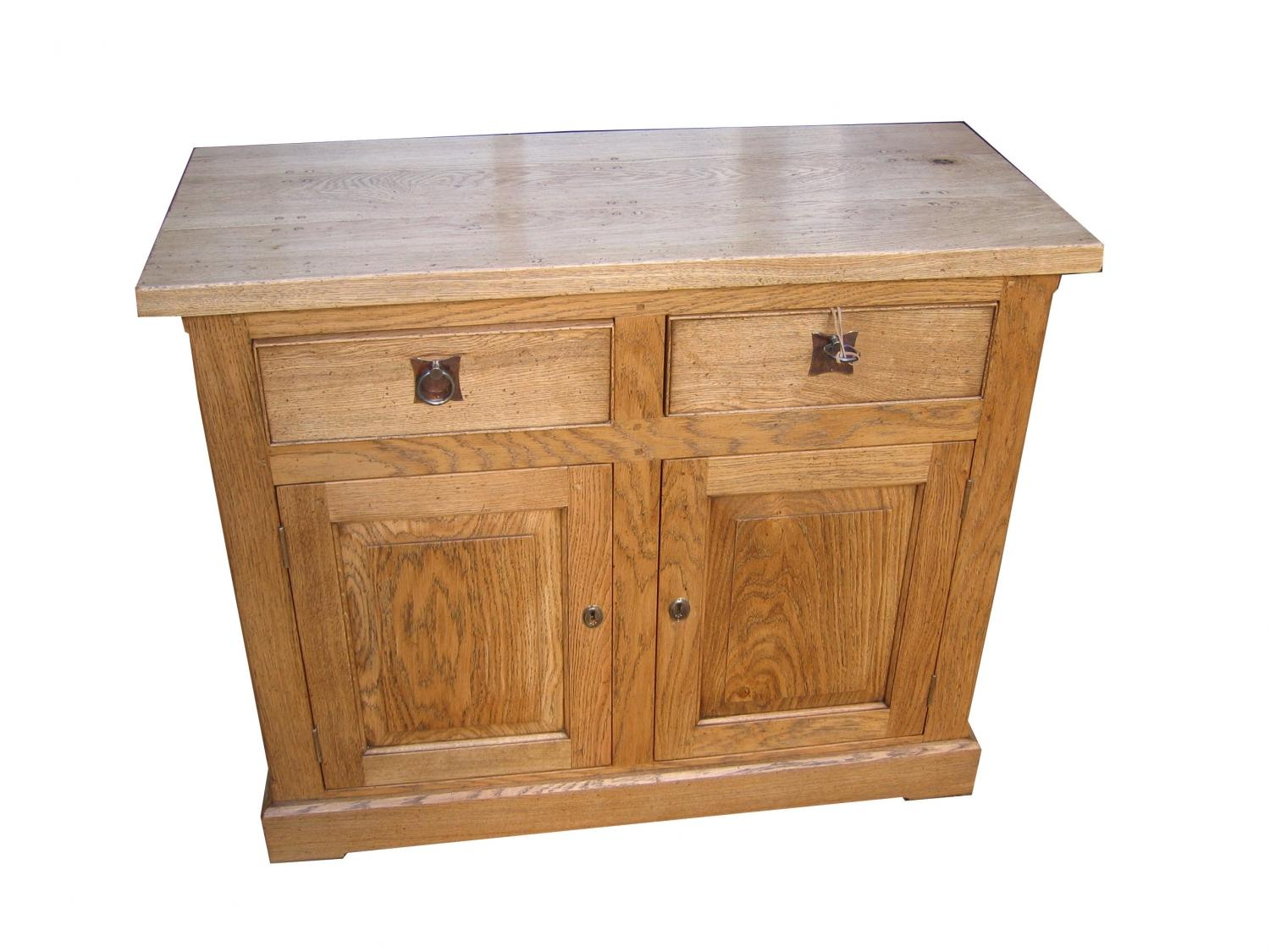 Oak Cabinet - two door