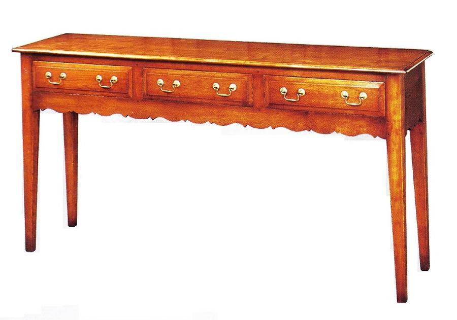 Oak Server - French Provincial