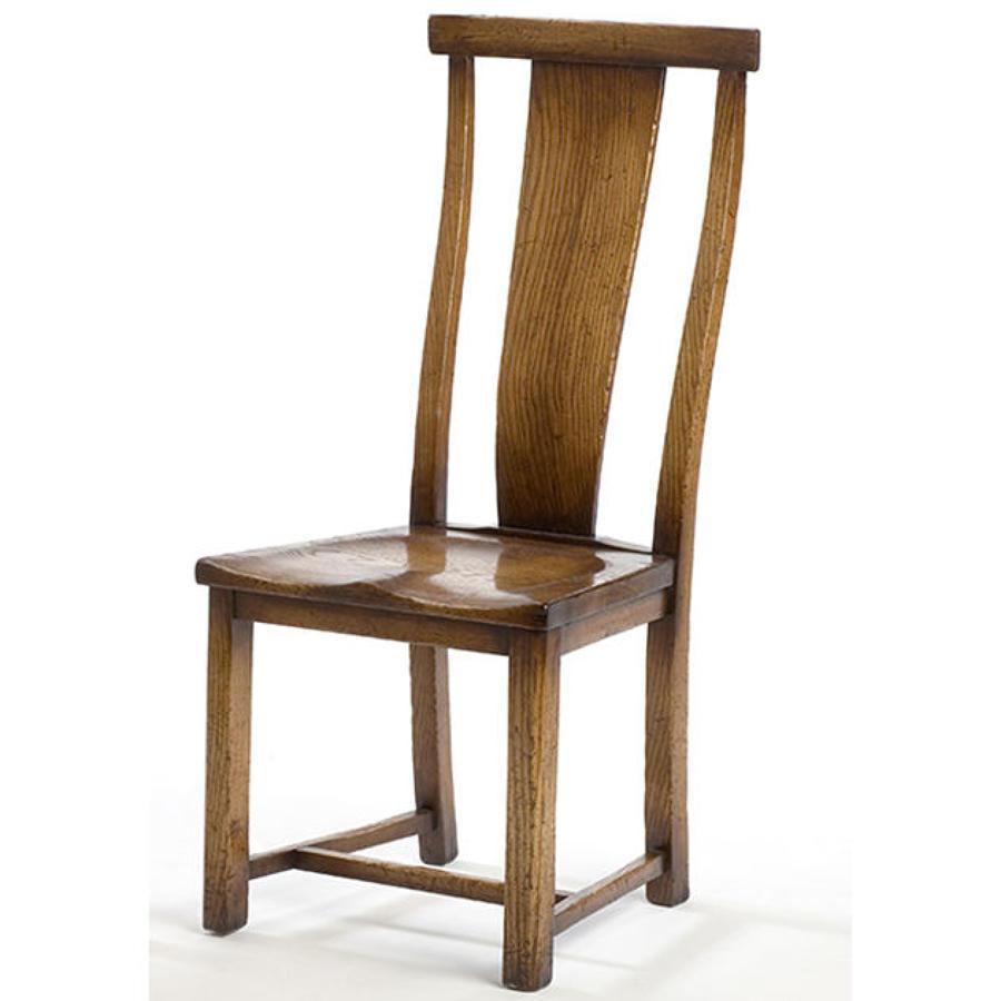 Oak Dining Chair - Curve Splat Back