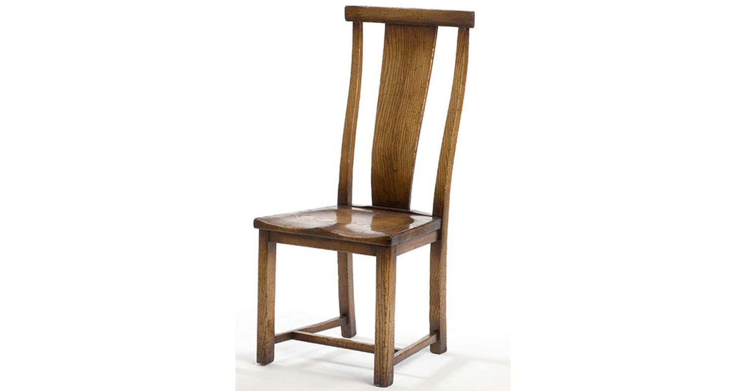 Oak Dining Chair - Curve Splat Back