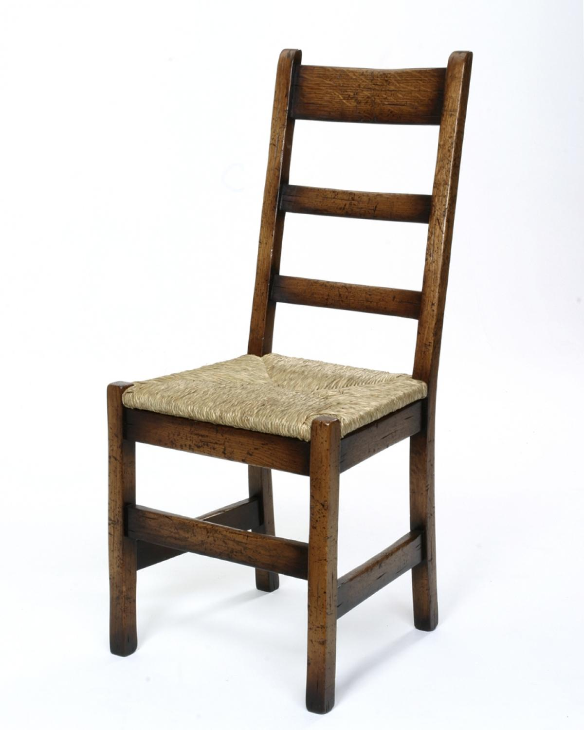 Oak Dining Chair - Contemporary Ladder