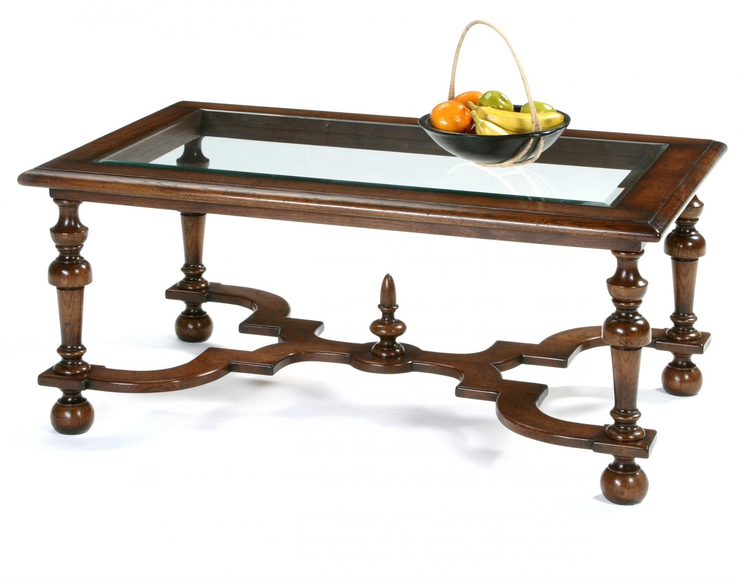 Oak William and Mary Coffee Table