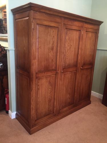 Oak Wardrobes - free standing