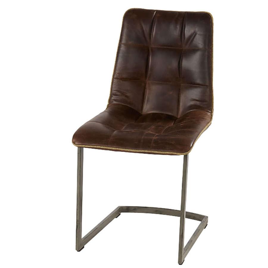 Dolomite metal frame chair