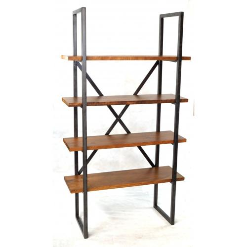 Metal Brace Bookcase