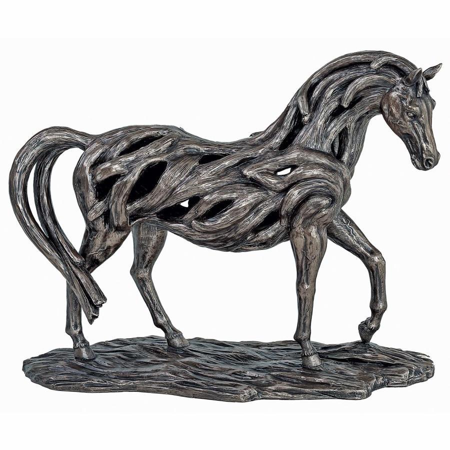Trotting Horse cold cast bronze sculpture