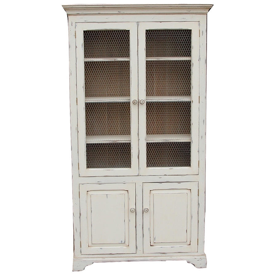 Two door painted cabinet