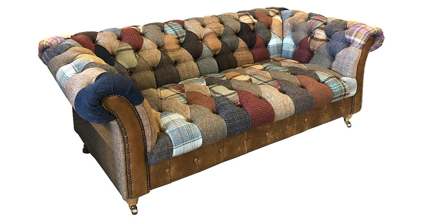 Harlequin Patchwork two seater sofa