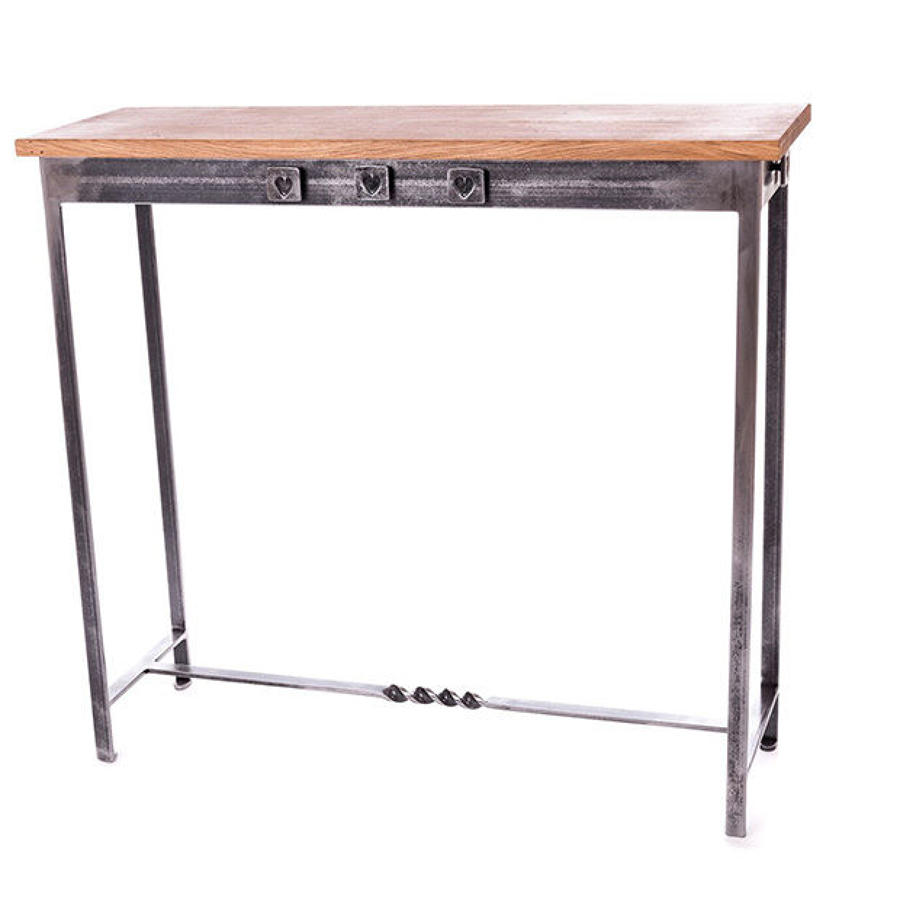 Hearts Console Table