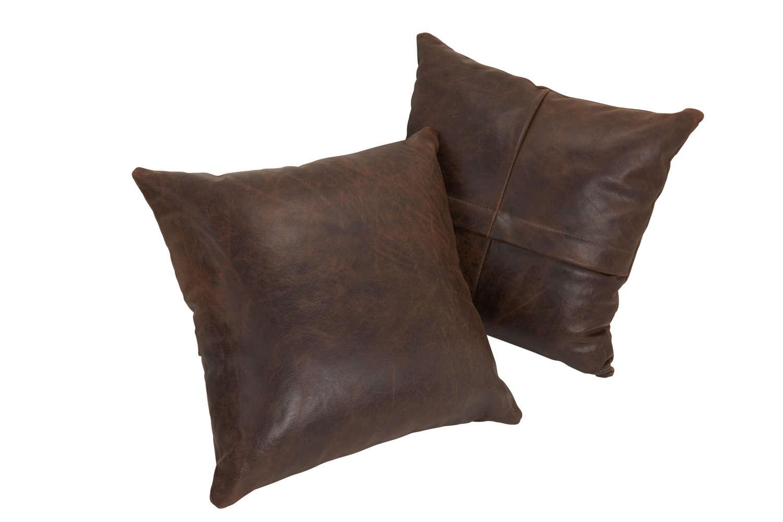 Vintage leather Cushion