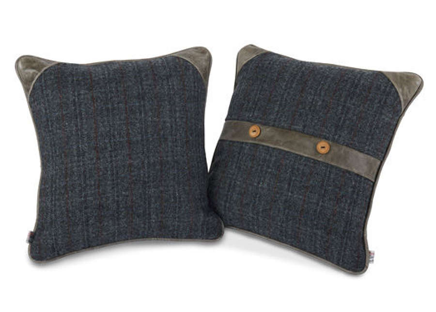 Belt and Button Cushion