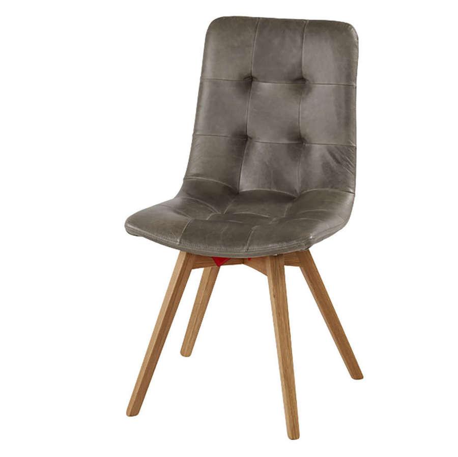 Allegro Dining chair in Cerato Grey